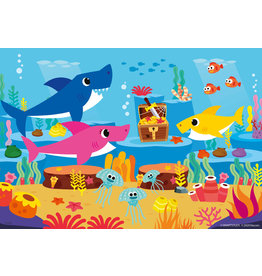 Ravensburger Ravensburger Puzzel 051236 Baby Shark Ontdekt de Oceaan (2x12 Stukjes)