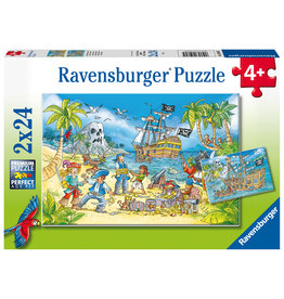 Ravensburger Ravensburger Puzzel 050895 Avontureneiland (2x24 Stukjes)