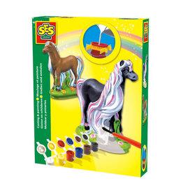 SES Creative SES Creative Gips Gieten en Schilderen Paard