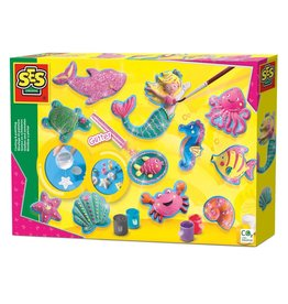 SES Creative SES Creative Gips Gieten en Schilderen Oceaanfiguren