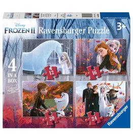 Ravensburger Ravensburger Puzzel 030644 Disney Frozen Liefde en Vriendschap (12-16-20-24 Stukjes)