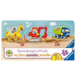 Ravensburger Ravensburger Houten Puzzel 030668 De kleine Bouwplaats (3 Stukjes)