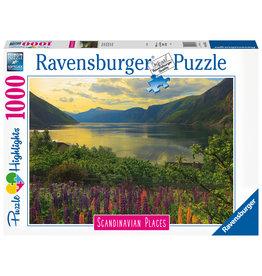 Ravensburger Ravensburger Puzzel 167432 Fjord in Noorwegen / Fjord en Norvège (1000 Stukjes)