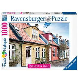 Ravensburger Ravensburger Puzzel 167418 Aarhuus, Denemarken / Aarhus, Danemark (1000 Stukjes)