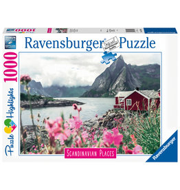 Ravensburger Ravensburger Puzzel  167401 Reine, Lofoten, Noorwegen (1000 Stukjes)
