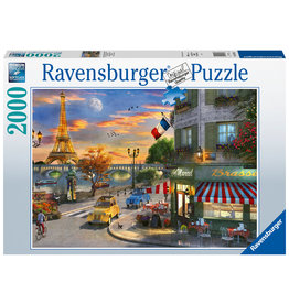 Ravensburger Ravensburger Puzzel 167166 Romantische Avond in Parijs (2000 Stukjes)