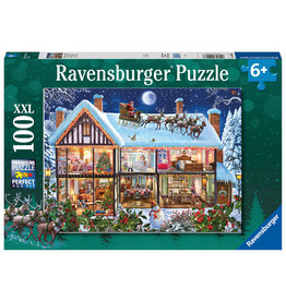 Ravensburger Ravensburger Puzzel 129966 Kerstmis Thuis (100 Stukjes)