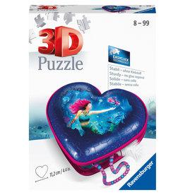 Ravensburger Ravensburger 3D Puzzel 112494 Hartendoosje Enchanting Mermaids (54 Stukjes)