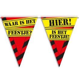 Party Vlaggen - waar is het feestje