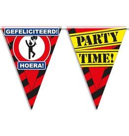 Party Vlaggen - gefeliciteerd