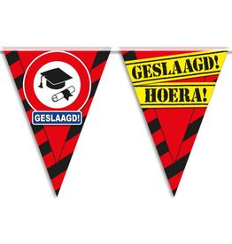 Party Vlaggen - geslaagd
