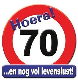Huldeschild - 70 jaar