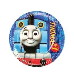 Bordjes Thomas de trein (Ø18cm, 8 stuks