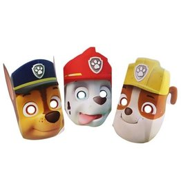 Maskers Paw Patrol assorti (8 stuks)
