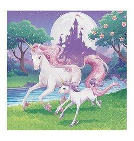 Servetten Unicorn (33cm, 16 stuks)