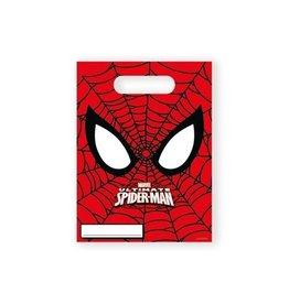 Uitdeelzakjes Spiderman (6st)