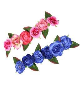 bloemenhaarband dirndl