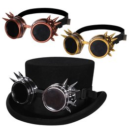 Steampunk goggles deluxe