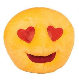 Masker Emoji Hartjes