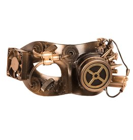 Oogmasker Steampunk Luxe