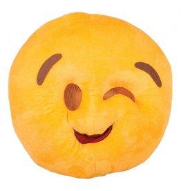 Masker Emoji Knipoog