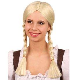 Pruik Ulrike blond