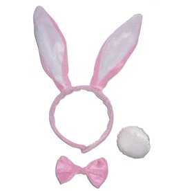 Set Bunny roze (3)