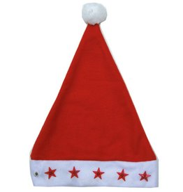 Kerstmuts + 5 ster