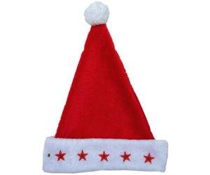 Kerstmuts Met Licht : Kerstmuts plush licht rood de verkleedzolder voor al uw