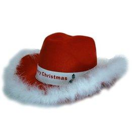 Hoed Vilt Cowboy Kerst