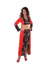 Japanse kimono, lange jurk