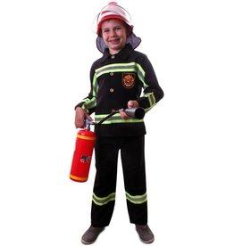 Brandweer zwart kids