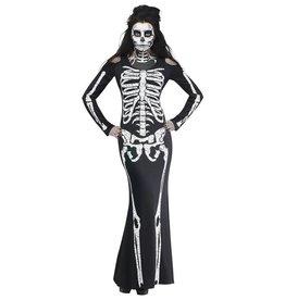 Skelet botten jurk