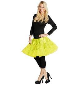 Petticoat neon geel one size