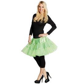 Petticoat neon groen one size
