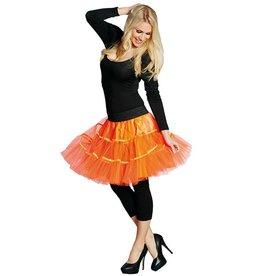 Petticoat neon oranje one size