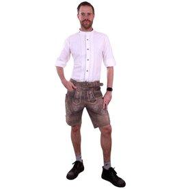 Tiroler blouse wit deluxe