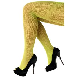Netpanty fluo geel one size