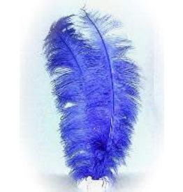 Spadonis veren blauw (Piet veren) ± 50cm