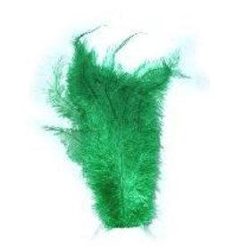 Floss veren groen (Piet veren) ± 30cm