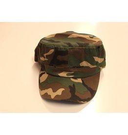 Damespet camouflage