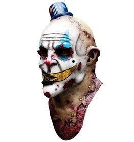Masker zombie clown met hoed