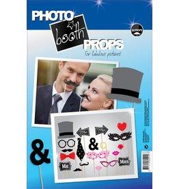 Photo booth props huwelijk