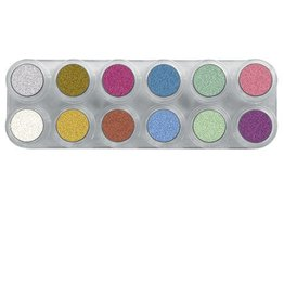 Grimas Water Make Up Pearl Paletten - P12