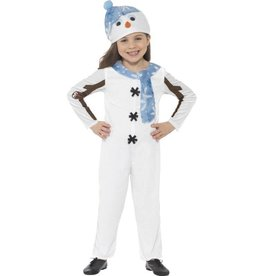 Sneeuwman Peuter Kostuum