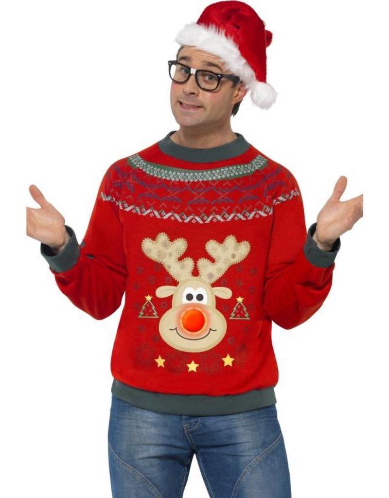 Foute Kersttrui Led.Foute Kersttrui De Verkleedzolder Voor Al Uw Feestartikelen