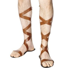 Romeinse Sandalen, Bruin