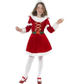 Kleine Miss Santa kostuum