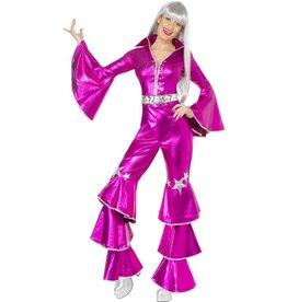 Jaren 70 Dancing Queen Kostuum, pink