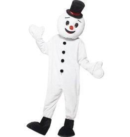 Sneeuwman Mascotte kostuum